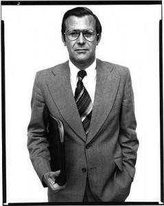 Donald Rumsfeld (1976) ~ © Richard Avedon
