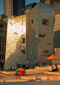 Fed Square -- by David Simmons