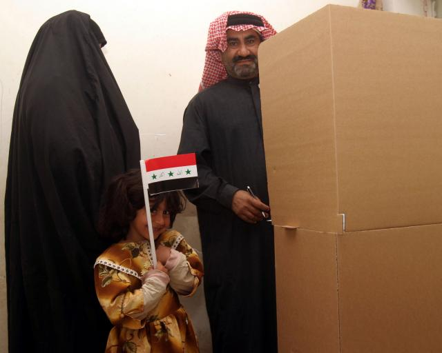 Voting in Iraq