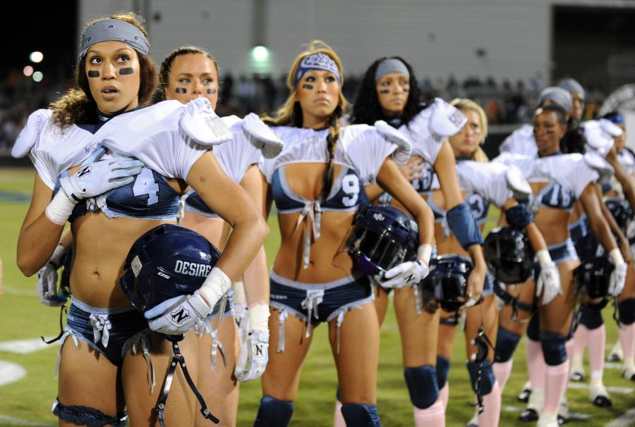 Lingerie bowl sex