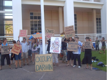 Occupy Darwin1 – Rohan Wightman