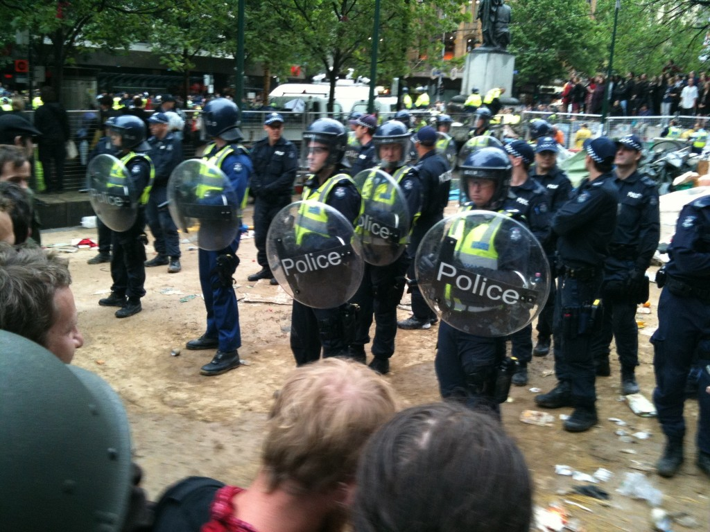 OccupyMelb_riotcops