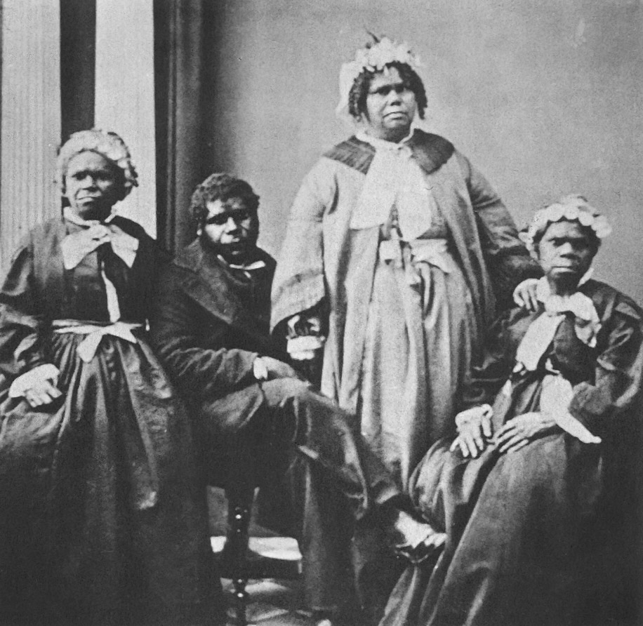 Truganini and others in Tasmania