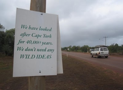 Wild Rivers sign