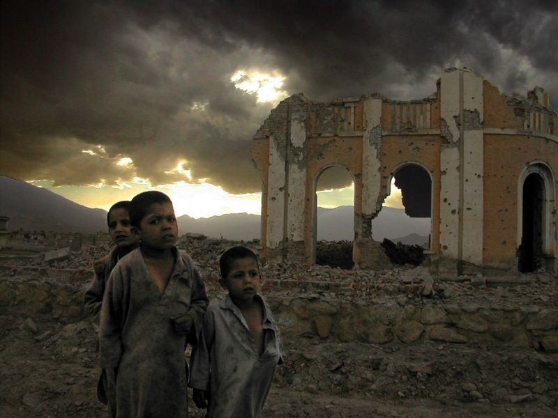Kabul kids -- by Mark Knobil