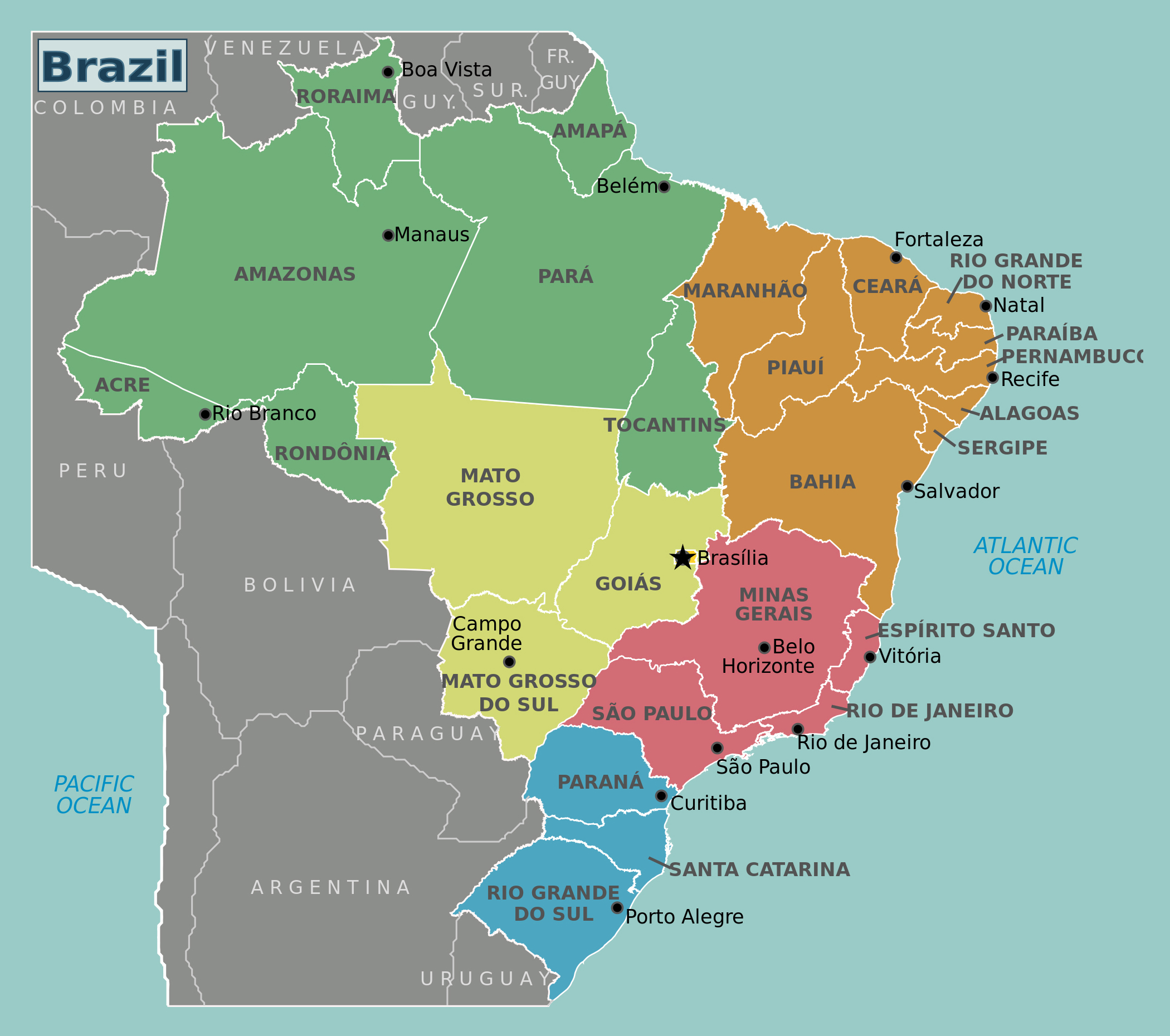 Maps Of Brazil Un mappable Fascism: What maps can (and can't) explain about the  Maps Of Brazil