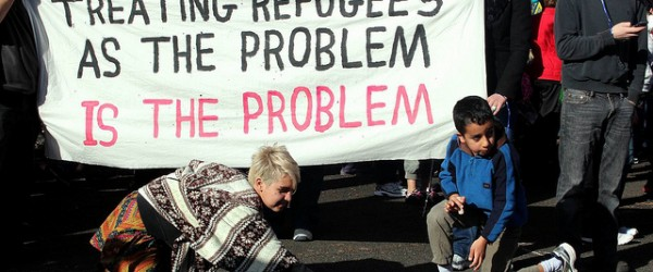 Refugee Rights Protest at Broadmeadows, Melbourne
