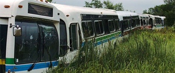 Abandoned-buses