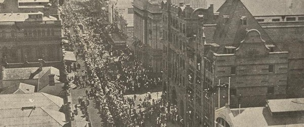 Armistice march 1918, Brisbane