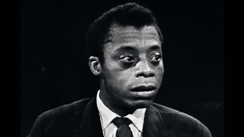 James Baldwin interview; still from I Am Not Your Negro
