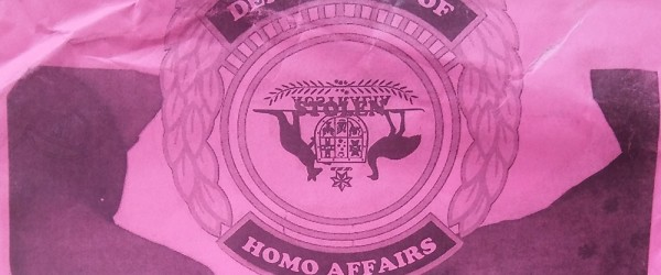 Dept Homo Affairs leaflet