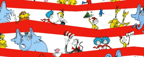 Dr Seuss_wrapping paper