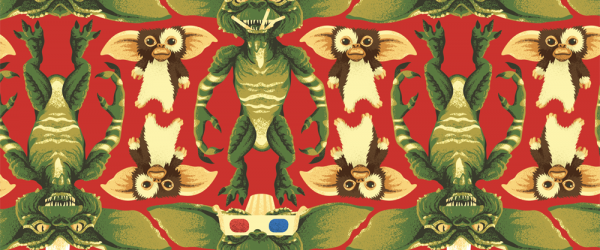 Gremlins wrapping paper
