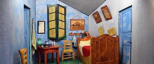 Inside Van Gogh's Bedroom at Arles