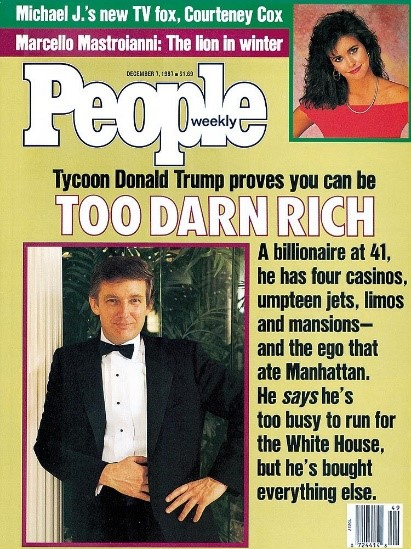 Cover of People 7 December 1987