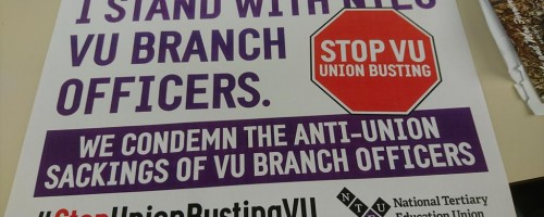 Union-busting at VUjpg