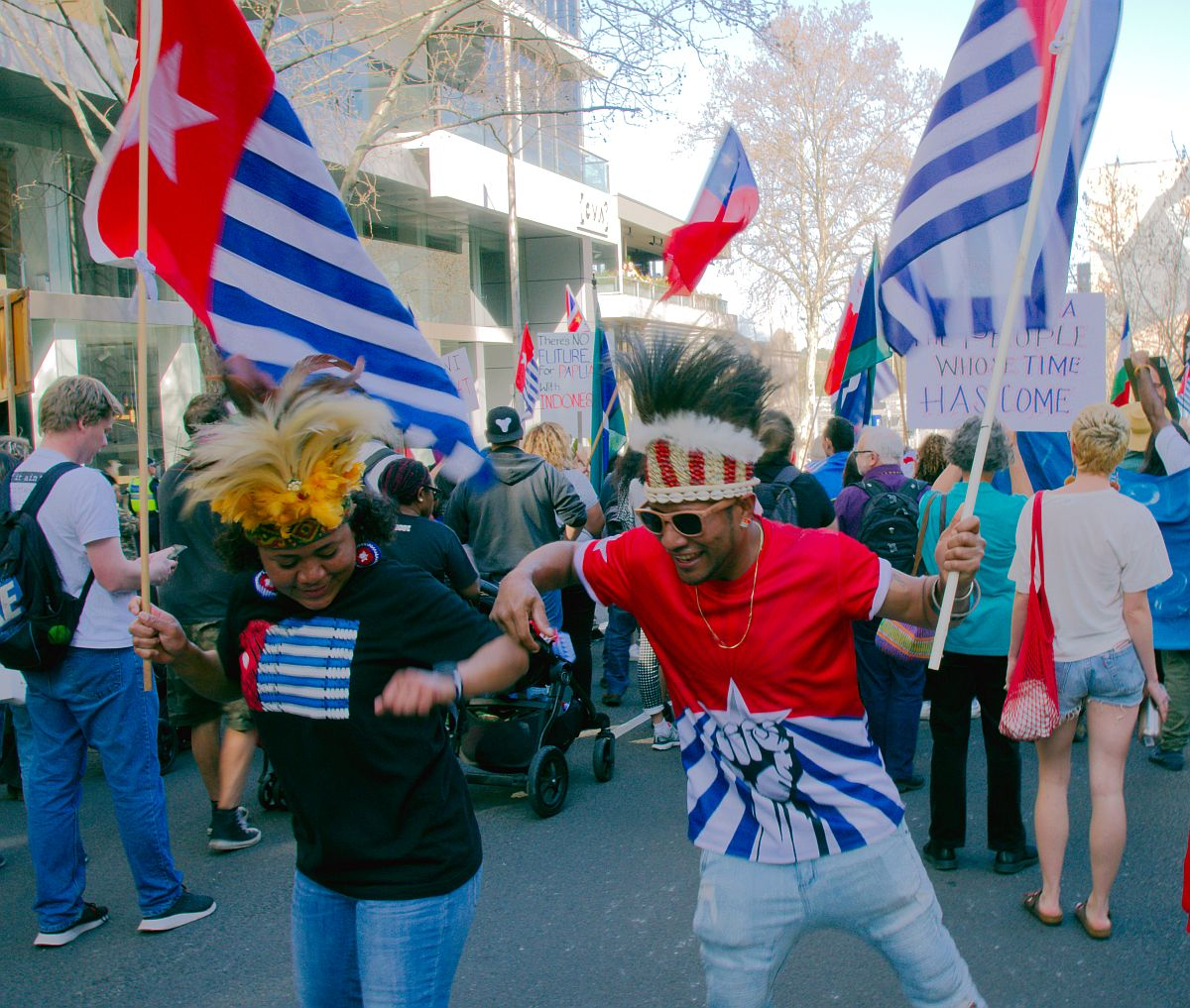 Free west Papua rally