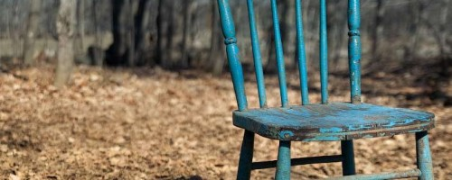 chair-in-forest