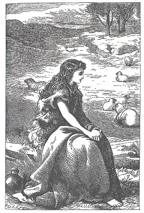'Joan of Arc attending her flock', A Child's History of England
