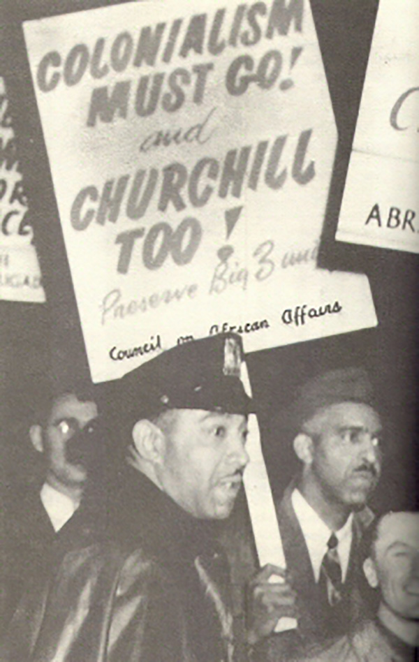 Council on African Affairs Protest,  New York City, 1952