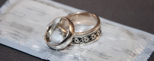 Wedding rings and condoms