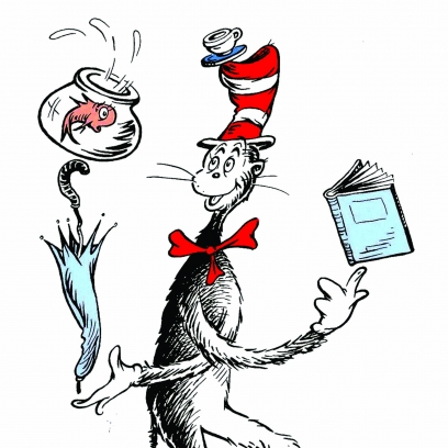 How to write a cat overland literary journal for Cat in the hat fish