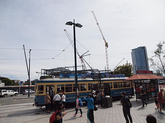 Tram in the Square