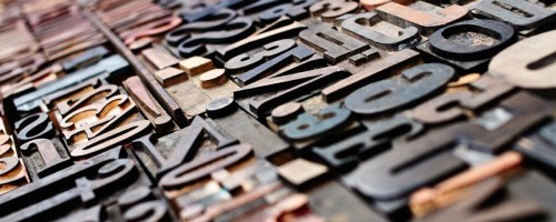 type-letters