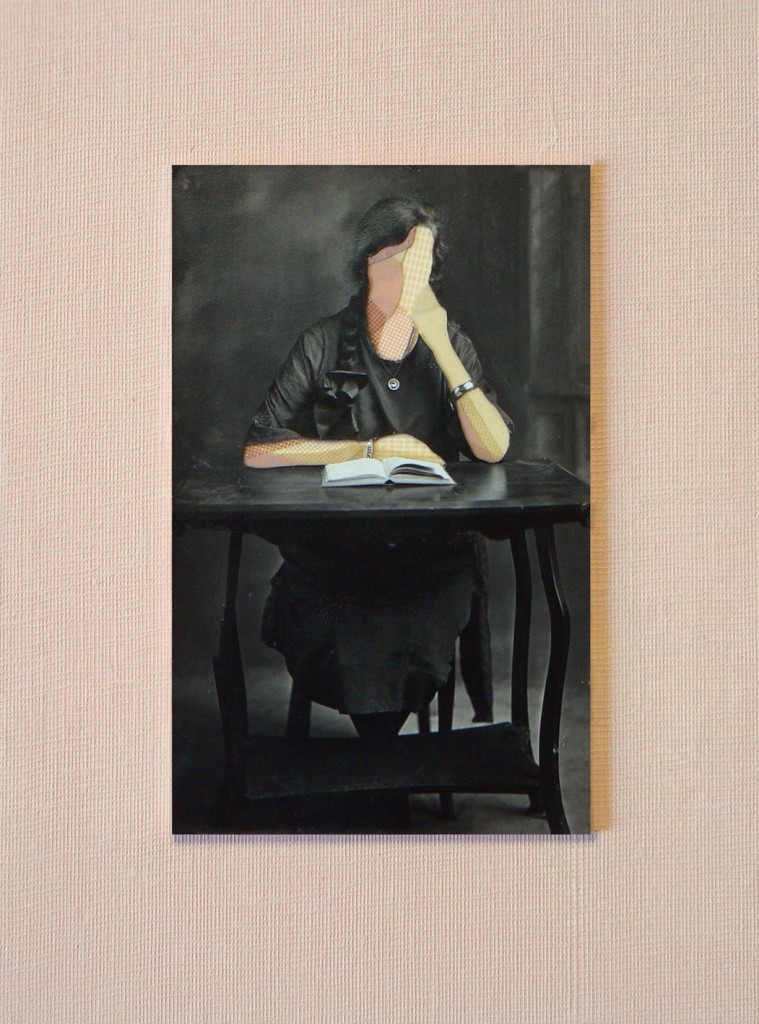 woman with book copy